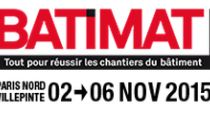 Salon international de la construction - 2 au 6 novembre 2015 - Paris