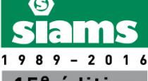 SIAMS, salon des moyens de production microtechniques - 19 au 22 avril 2016 - Moutier (Suisse)